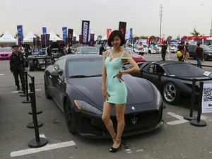 2016 XMEETING车迷大会  气质美女第N波来袭