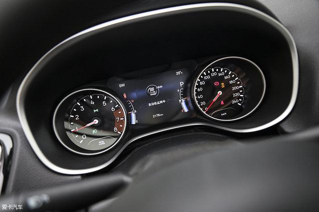 广汽菲克Jeep指南者200T家享版配备有仪表盘7.0寸彩色显示屏.-推高清图片