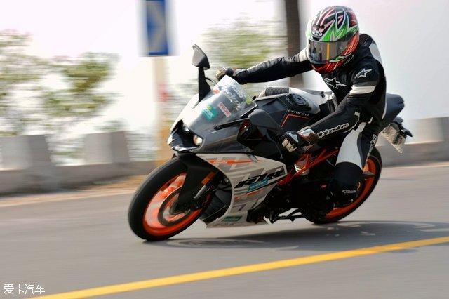 摩托车;ktm;rc