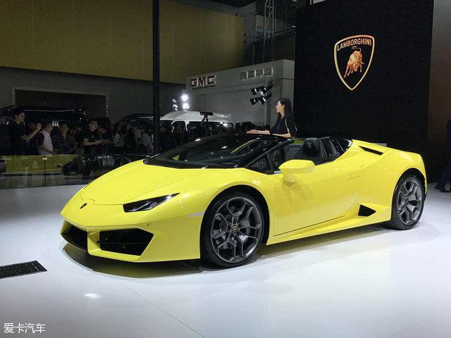 Huracan后驱敞篷版广州上市 售328.9万