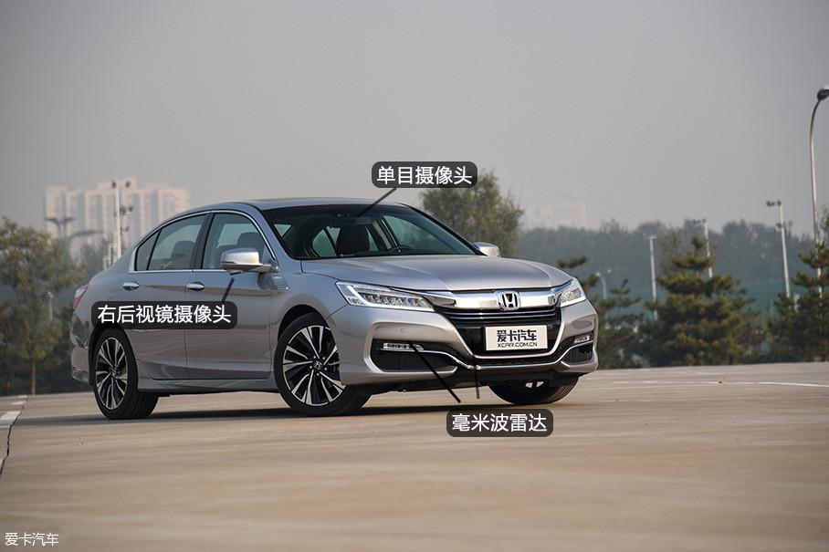 技能挑战赛主要体验的是i-MMD混动系统和Honda SENSING安全超感系统两大雅阁锐·混动的优势产品点。