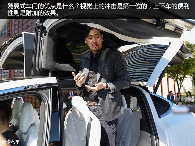 【图文】振翅欲飞的雄鹰 全面体验特斯拉MODEL X_爱卡汽车